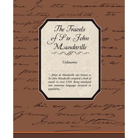 The Travels of Sir John Mandeville - City Of Mandeville