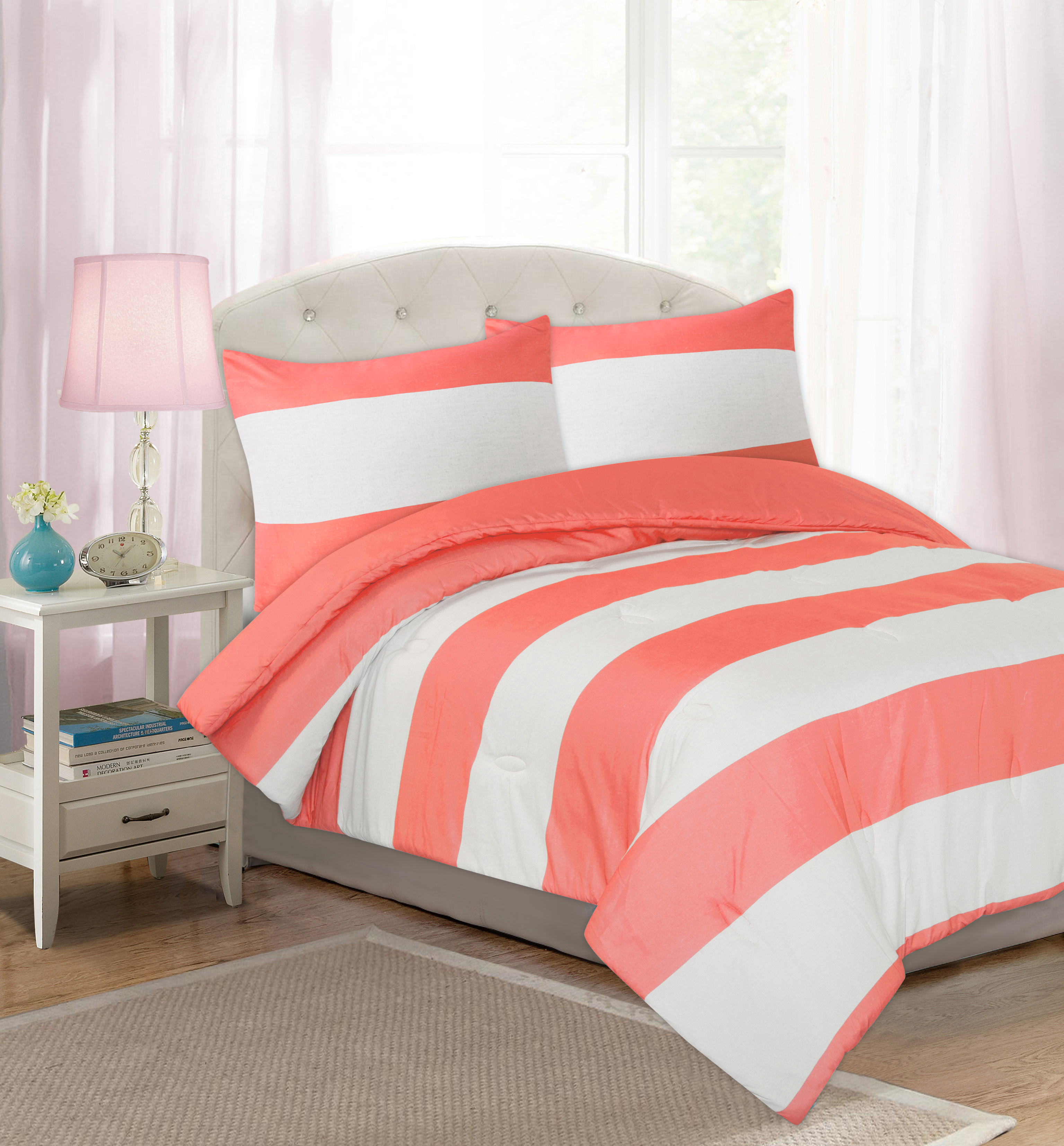Your Zone Cabana Stripe Comforter Set
