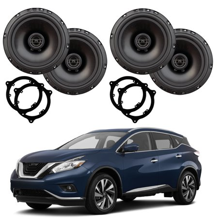 Fits Nissan Murano 2015-2018 Factory Speaker Upgrade Package Harmony R65 - Rpm Upgrade Package