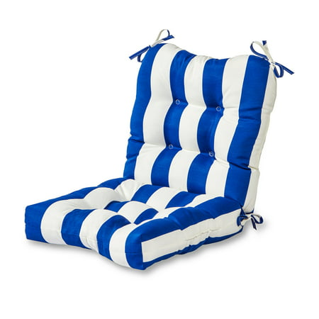 (Greendale Home Fashions Cabana Stripe Outdoor Chair Cushion)