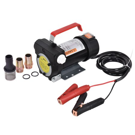 Diesel Electric - Costway DC 12V 10GPM 155W Electric Diesel Oil And Fuel Transfer Extractor Pump Motor