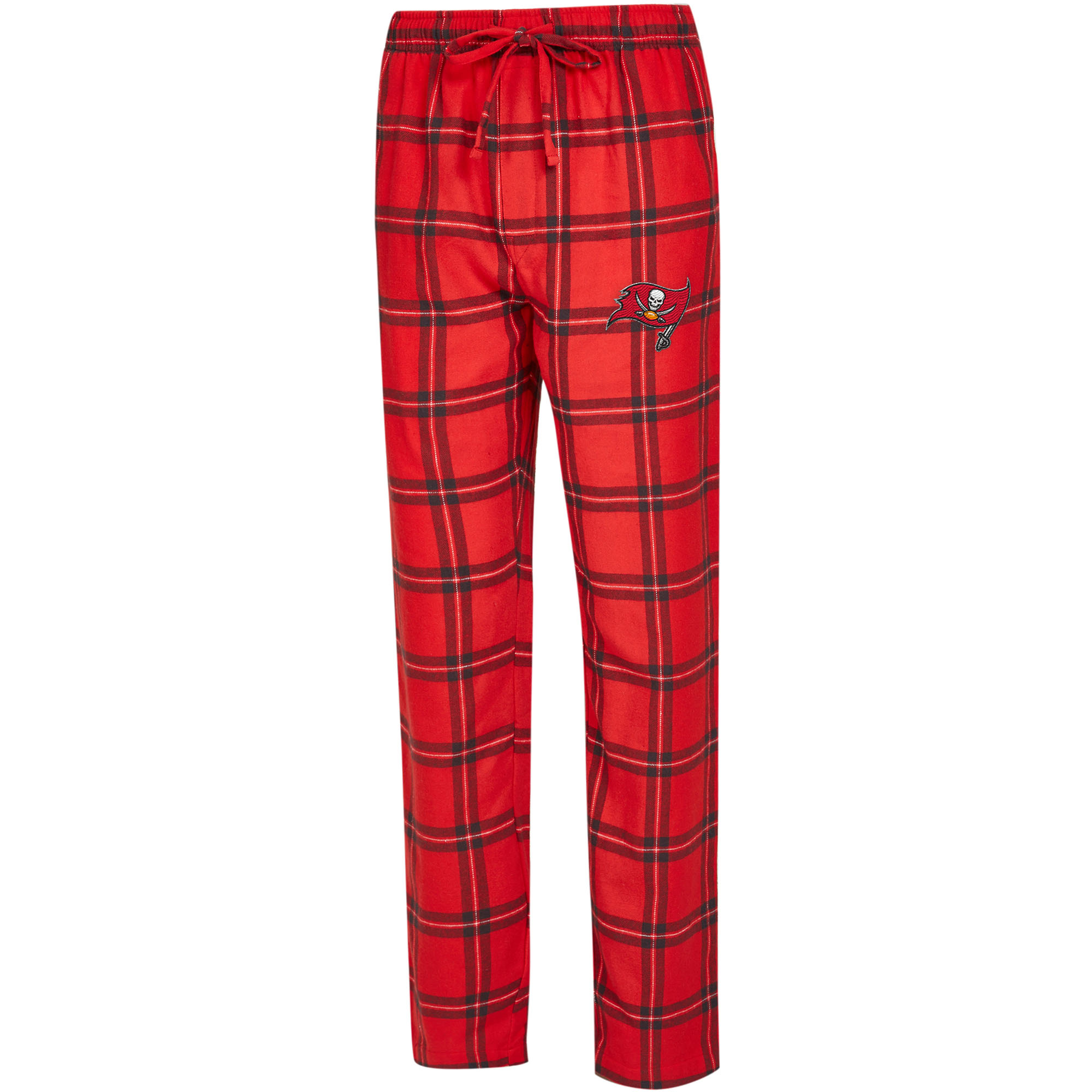 Tampa Bay Buccaneers Concepts Sport Big & Tall Homestretch Flannel Pants - Red/Pewter