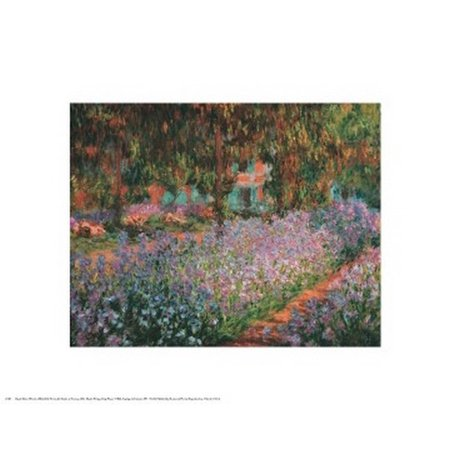 Artists Garden At Giverny 1900 Poster Print by Claude Monet (20 x 16) (Giverny Monet Museum)