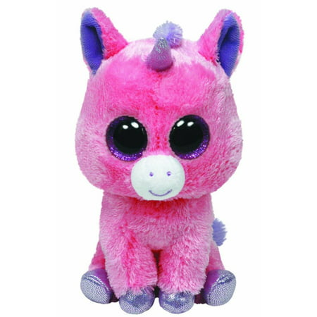 TY Beanie Boos - MAGIC the Pink Unicorn (Glitter Eyes) (Regular Size - 6  inch) - Walmart.com f26c2d734fd8
