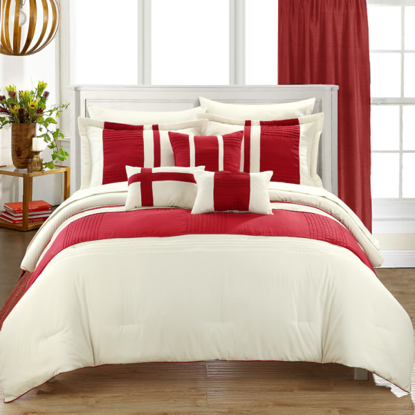 Chic Home Figaro 10-piece Bed in a Bag Comforter Set