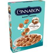Kellogg's Cinnabon Breakfast Cereal, Cinnamon Roll, 9 Oz