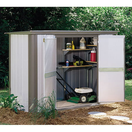 Arrow Ezee Locker Specialty Steel Arrow Shed Walmart Com