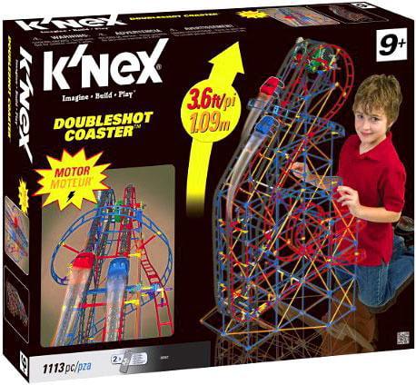 K'NEX Double Shot Coaster Building Set
