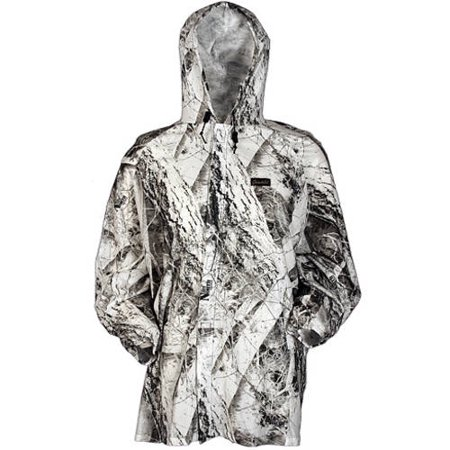 Ambush Cover Shell Jacket, Snow, Medium/Large (Gamehide Camo)