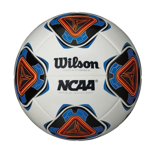 Wilson Forte Fybrid II Soccer Ball, Size 5, Blue and White by Wilson