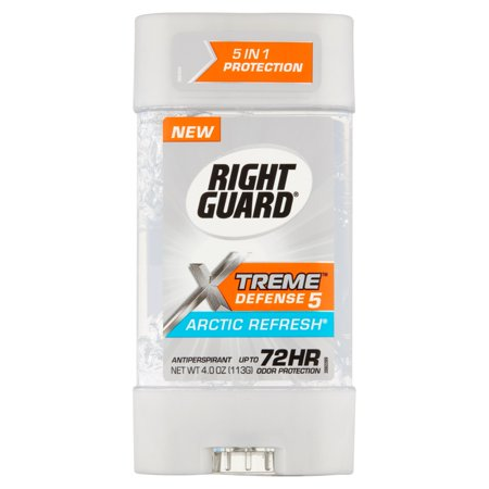 Right Guard  Xtreme  Defense 5 Arctic Refresh  Antiperspirant 4 Oz  Stick