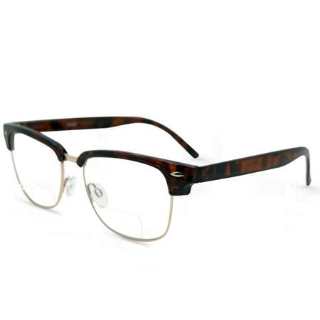 In Style Eyes Sellecks Bifocal Reading Glasses for Both Men & Women - Cheap Wayfarer Glasses