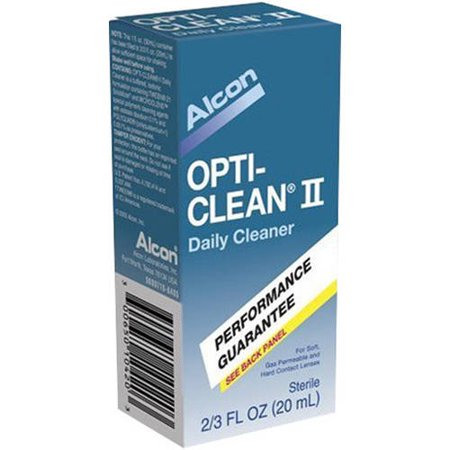 Image of Alcon Opti-Clean II Daily Lens Cleaner Performance Guarantee, 20 ML (Pack of 6)