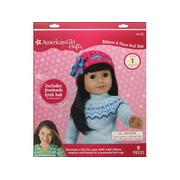 American Girl Kit Ribbon & Star Doll Hat