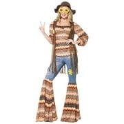 Harmony Hippie Adult Costume - Large