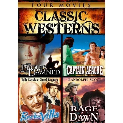 Classic Westerns: The Proud And The Damned / Captain Apache / Pancho Villa / Rage At Dawn