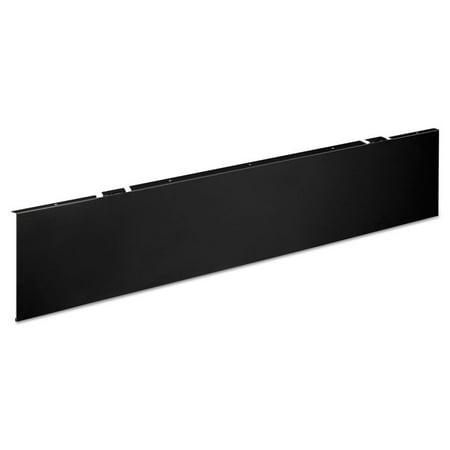 Hon Company MTUMOD4P Huddle Series Multipurpose Table Modesty Panel, Black