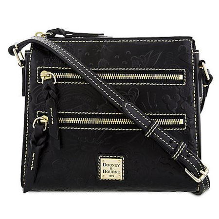 Disney Parks Icons Black Sketch Crossbody Bag by Dooney & Bourke New with -