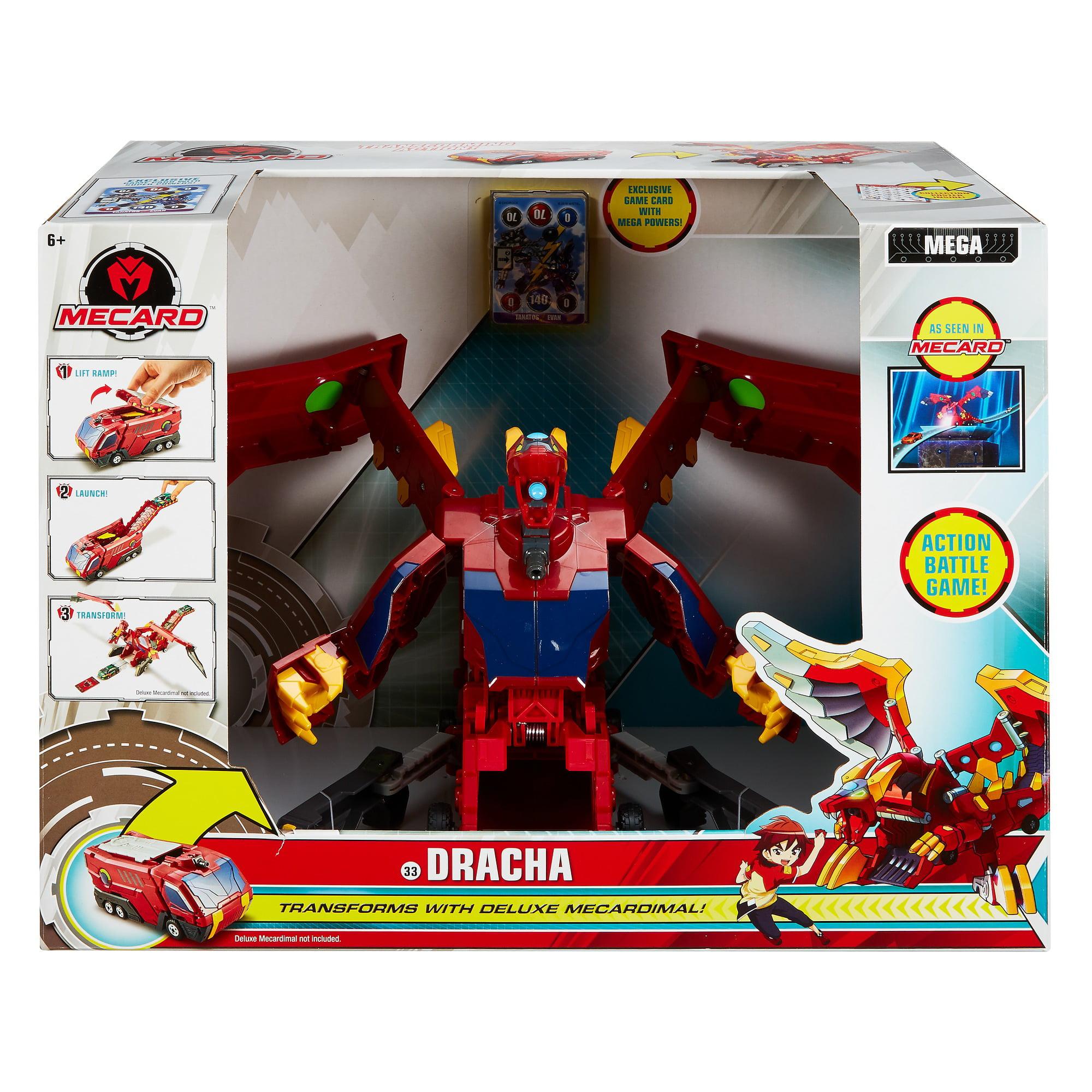 76220a804eb Mecard Mega Dracha Figure - Walmart.com