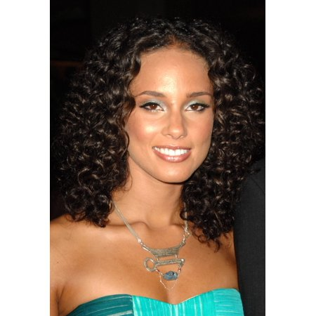 Alicia Keys At Arrivals For 22Nd Annual Ascap Rhythm   Soul Music Awards Beverly Hilton Hotel Beverly Hills Ca June 26 2009 Photo By Dee Cerconeeverett Collection Photo Print