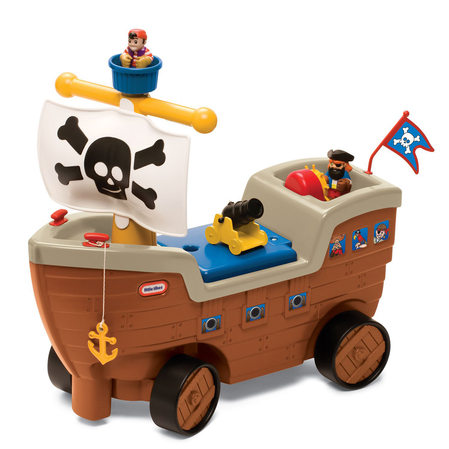 Little Tikes Play 'n Scoot Pirate Ship by Little Tikes