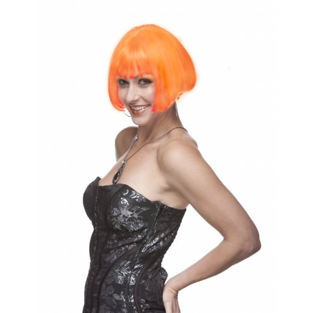 Sepia Costume Eve Synthetic Wig - Orange - image 1 of 1