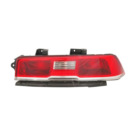 NEW RIGHT TAIL LIGHT FITS CHEVROLET CAMARO 2014 HALOGEN BULB GM2801265 23489170 Camaro Tail Light Covers