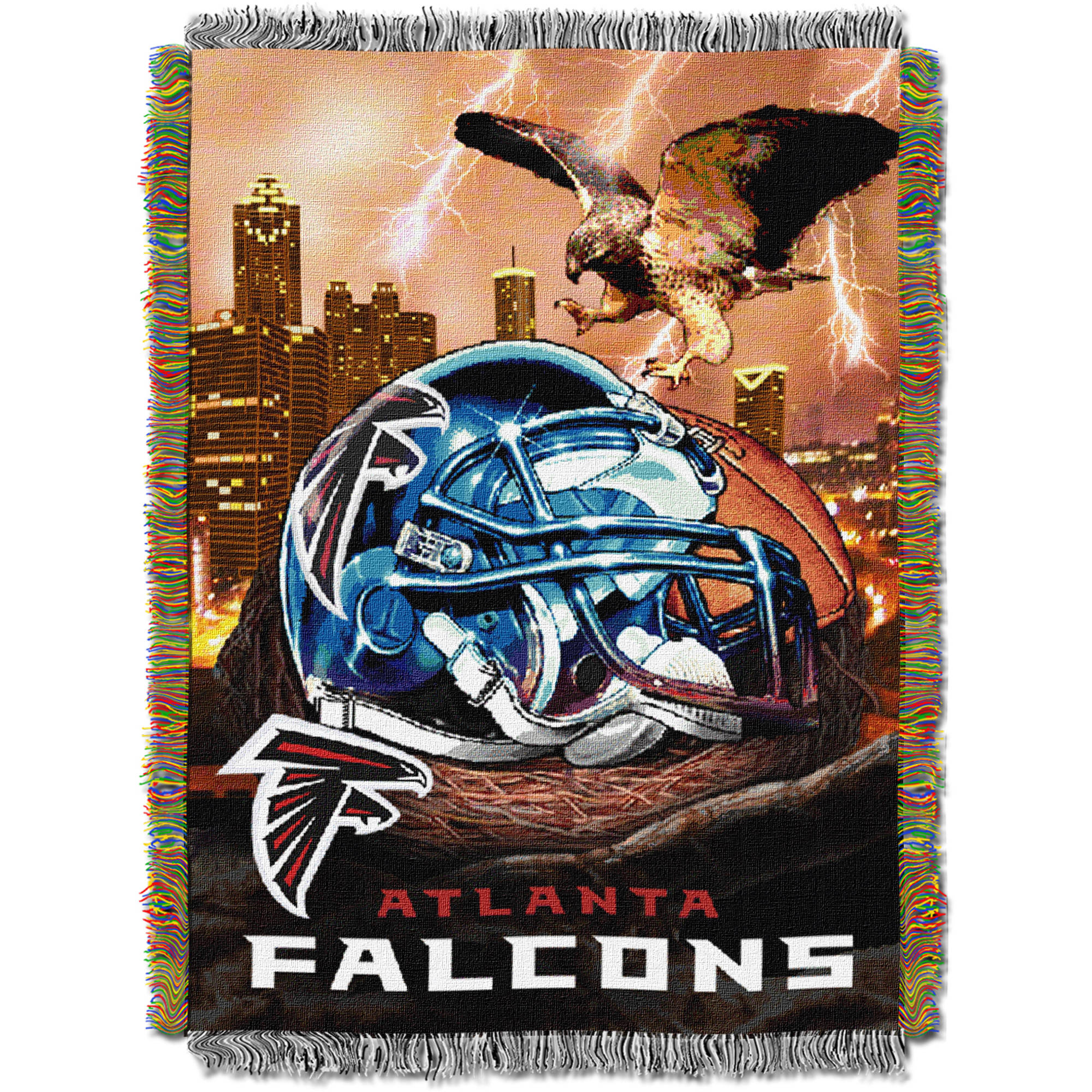 "NFL 48"" x 60"" Tapestry Throw Home Field Advantage Series- Falcons"