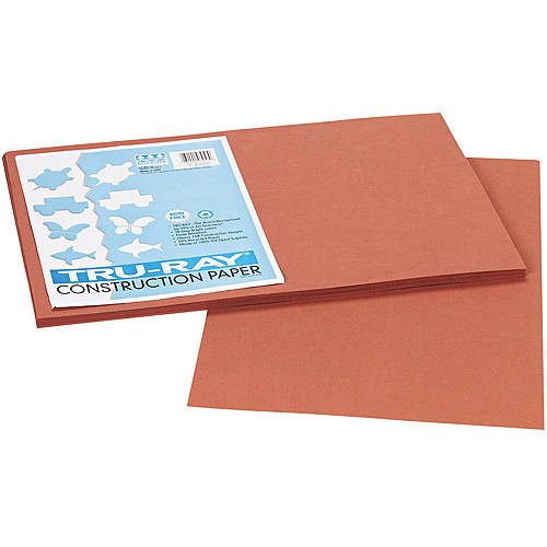 Pacon Tru-Ray Construction Paper, 12 x 18, 50 Sheets/Pack