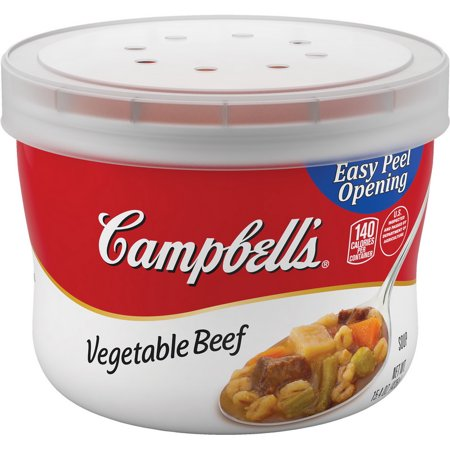 Noritake Vegetable Bowl - Campbell's 16459 Soup Red & White Vegetable Beef Bowl 8-15.4 Ounce