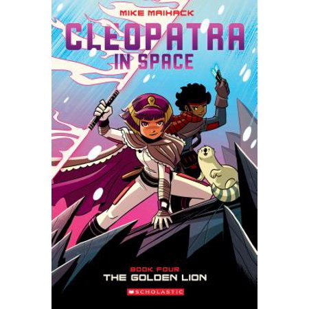 Cleopatra in Space: The Golden Lion (Paperback) (Cleopatra For Kids)