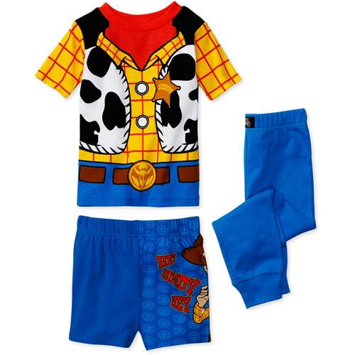 Disney - Baby Boys' 3-Piece Woody Pajamas
