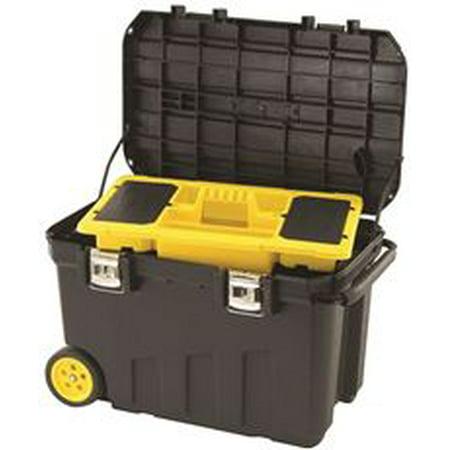 Mobile Jobsite Box - STANLEY 029025R 24-Gallon Mobile Tool Chest
