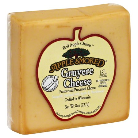 Apple Smoked Cheese, Gruyere, 8oz bar