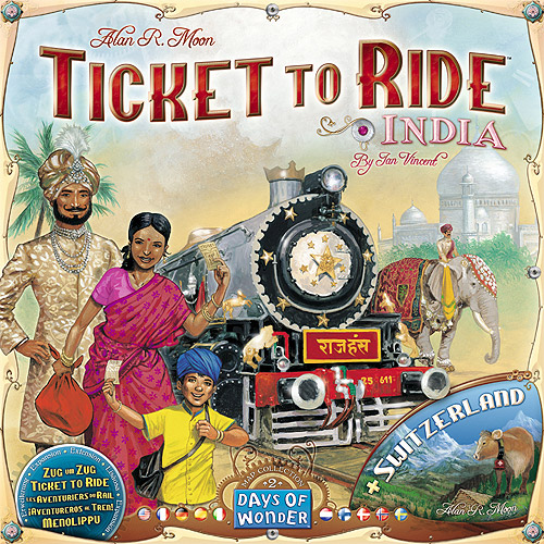 Days of Wonder Ticket to Ride India: Map Collection, Volume 2