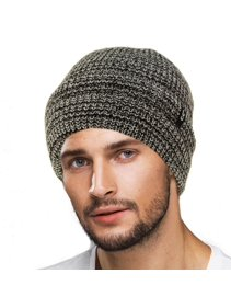 c0be1dad0cbfd9 CC Men's Winter Classic Soft Knit Stretchy Warm Beanie Skully Ski Hat Cap