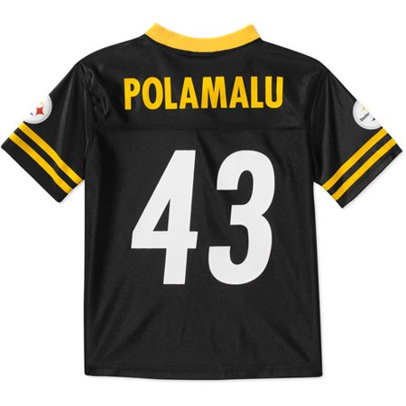 buy online 94736 893a4 NFL - Boys' Pittsburgh Steelers #43 Troy Polamalu Jersey