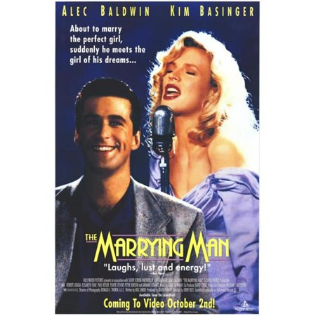Posterazzi MOVIF8322 The Marrying Man Movie Poster - 27 x 40 in. - image 1 de 1