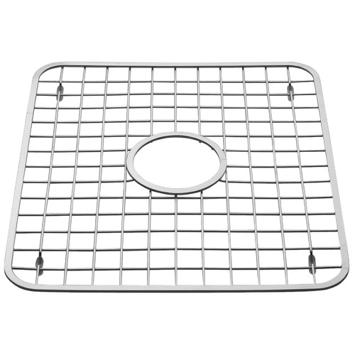 "InterDesign Sink Grid with Drain Hole, 12.75"" x 11"""