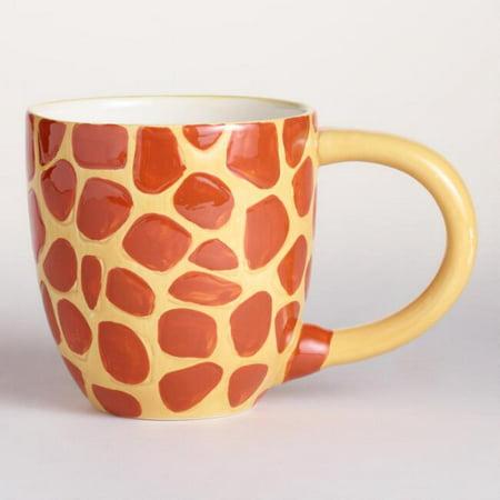 Surprise Giraffe Coffee Cup Mug with Baby Giraffe Inside - 17 Oz