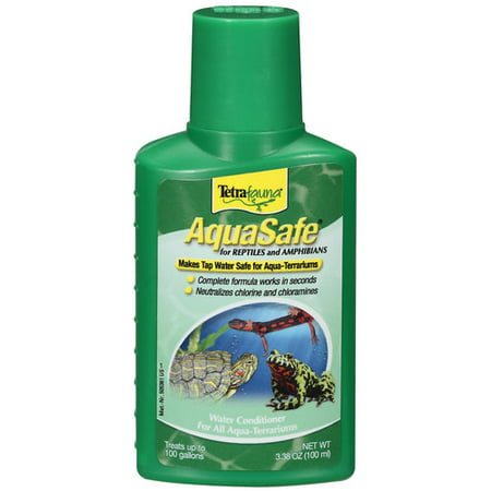 (2 Pack) TetraFauna AquaSafe Water Conditioner for Reptiles & Amphibians