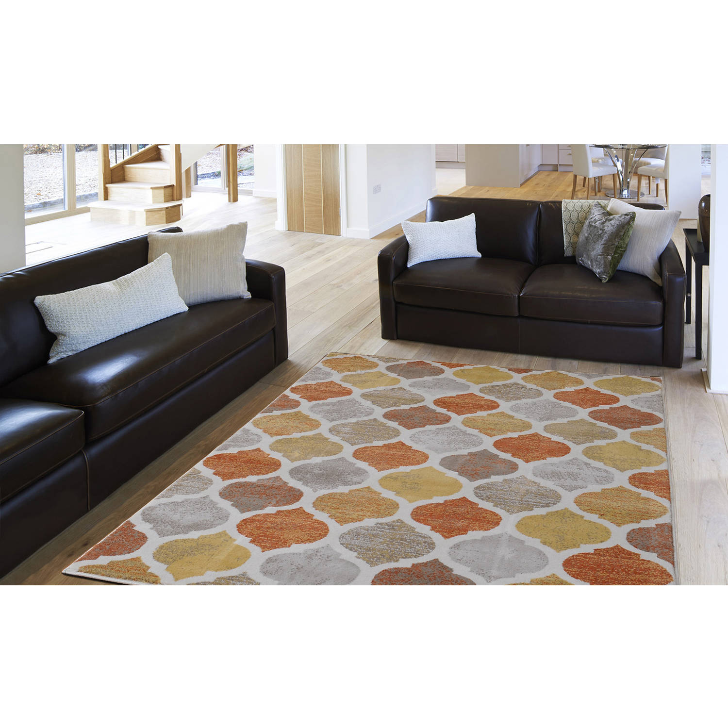 Home dynamix tremont collection hd5012 731 beige orange modern home dynamix tremont collection hd5012 731 beige orange modern moroccan area rug contemporary trellis style walmart dailygadgetfo Gallery