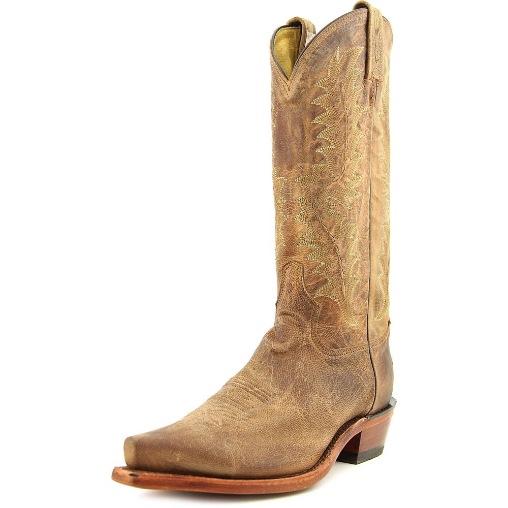 Tony Lama Saigets Men  Pointed Toe Leather Tan Western Boot