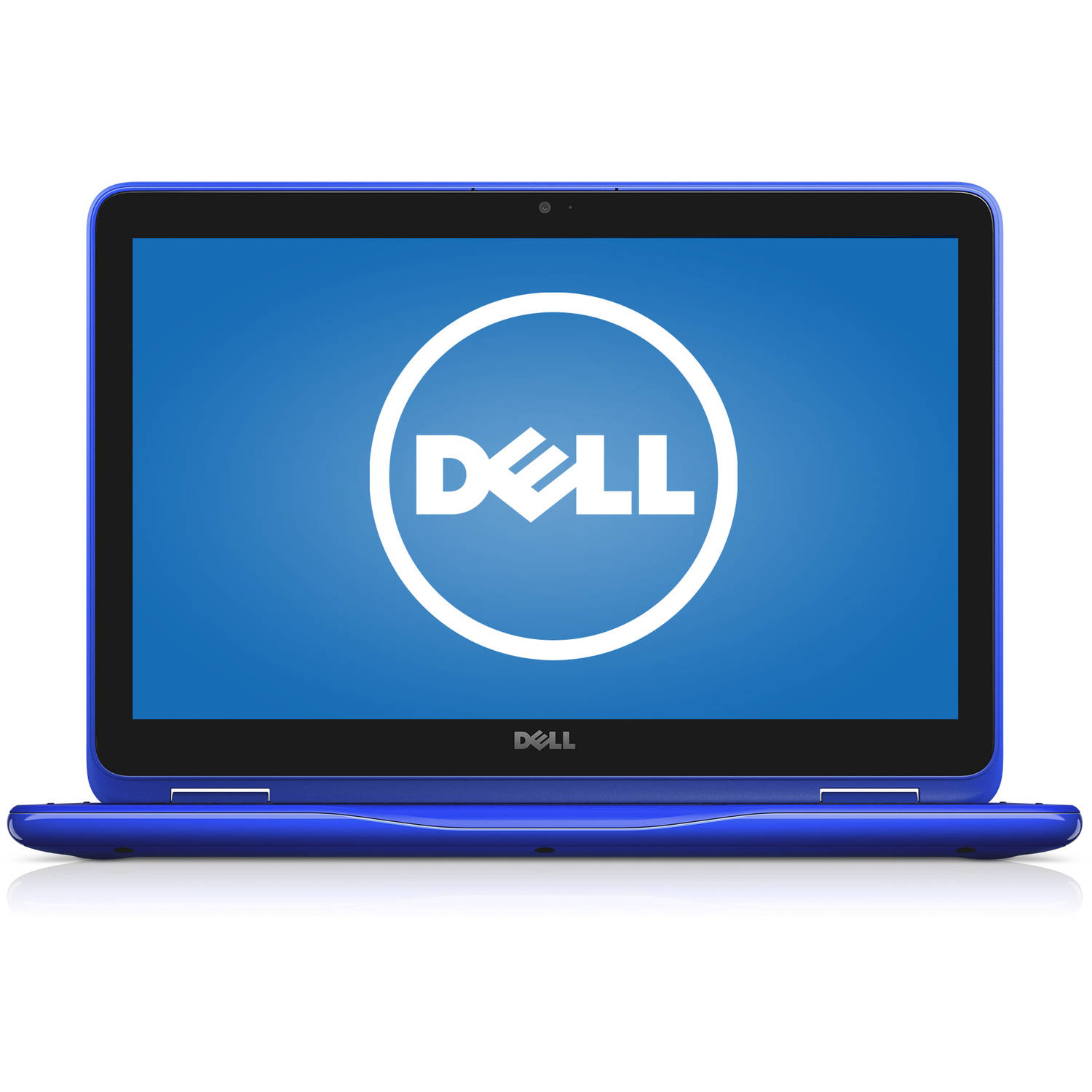 "Dell Bali Blue 11.6"" Inspiron 3000 i3168-3271BLU 2-in-1 Laptop PC with Intel Pentium N3710 Processor, 4GB Memory, Touchscreen, 500GB Hard Drive and Windows 10 Home"