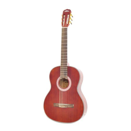 PYLE PGA32RBR - 6-String Acoustic Guitar, Full Scale, Accessory Kit - Halloween Guitar Scales