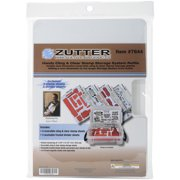 """Zutter Cling & Clear Stamp Storage System Refills-7.75""""X5.25"""""""