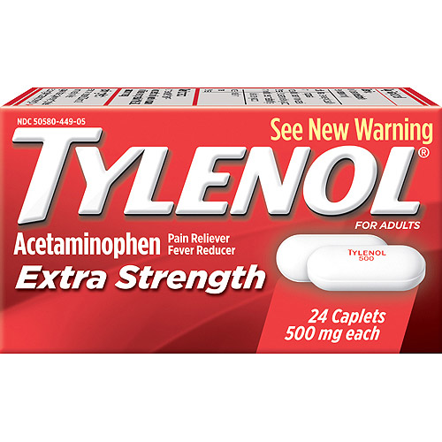 Tylenol: Caplets Extra Strength, 24 Ct