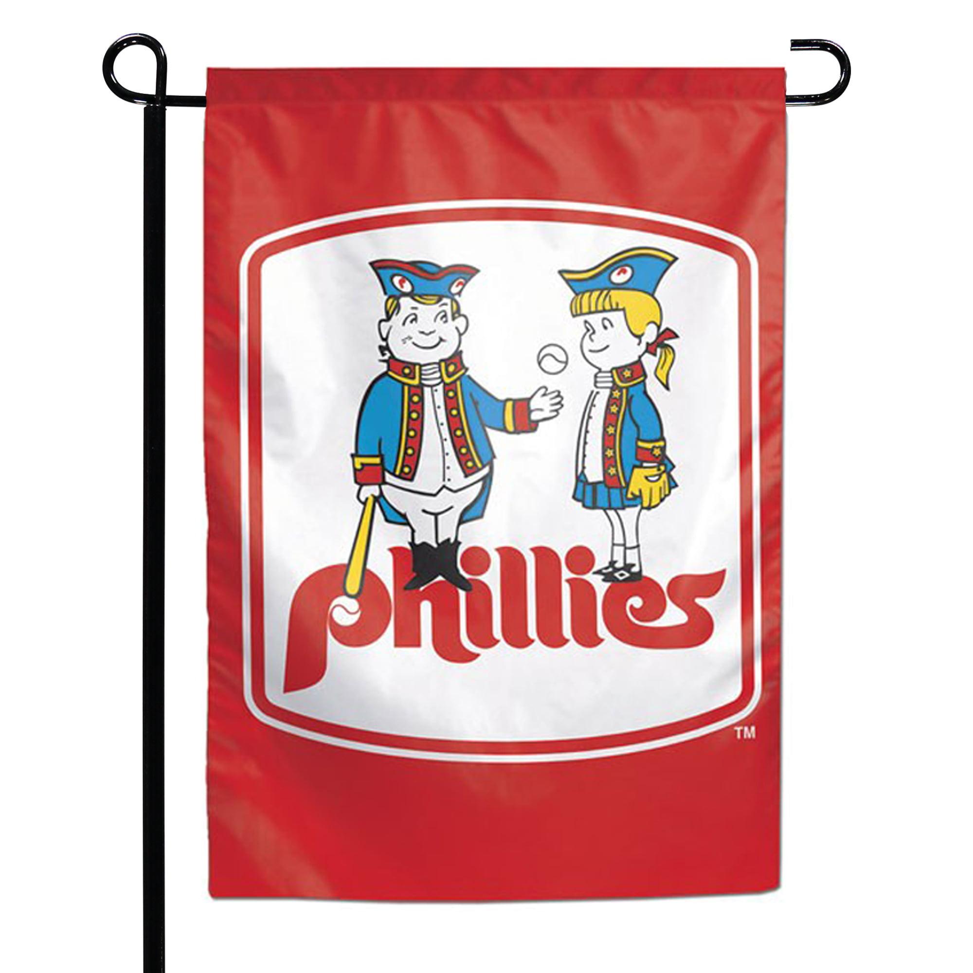 "Philadelphia Phillies WinCraft 12.5"" x 18"" Double-Sided Garden Flag - No Size"