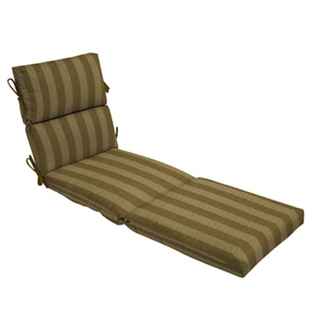 Outdoor chaise lounge cushion stripe for 23 w outdoor cushion for chaise