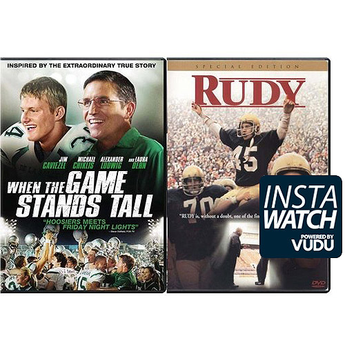 When The Game Stands Tall / Rudy (Walmart Exclusive) (DVD + Digital HD)